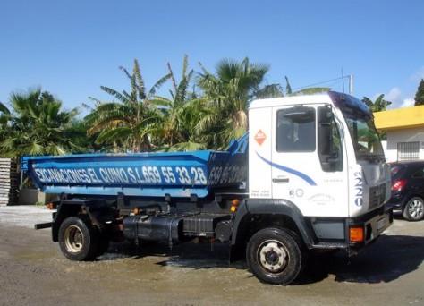 camiones 12 toneladas contenedor