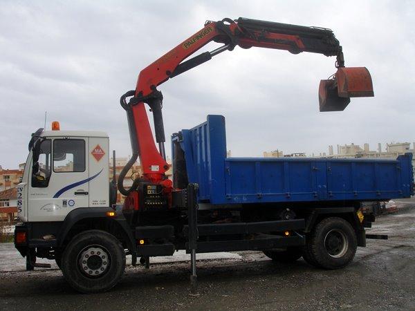 camion 18 toneladas caja y grua