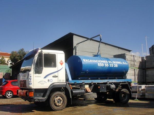 cargadero de agua