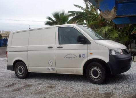 furgoneta reparto gasoil
