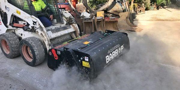 Nuevo implemento – Barredora