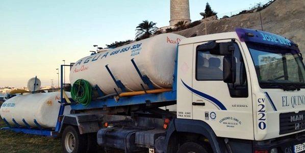 Abastecimiento de agua a obras