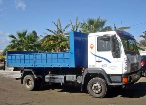 Camiones con caja