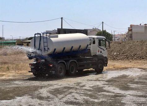 Transporte y suministro de agua